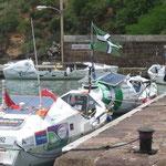 Las canoas que cruzan el Atlántico durante 3 meses