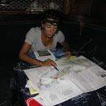 Preparando la navegación y llegada a las Vírgenes