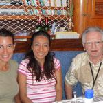 Con Maria y Jose