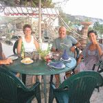 Cenando en el restaurante de los alemanes Laura y Win