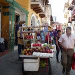 Más puestos de fruta