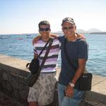 Óscar y Jose en Arrieta