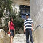 Paseando con Ferdy por la Valletta