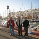 Puerto de Almerimar: Juan Antonio, Jose Antonio y Antonio