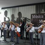 Mariachis en la Plaza Garibaldi
