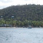 Morris Bay, nuestra primera parada en la isla