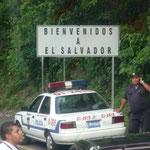 Frontera Guatemala - El Salvador