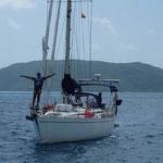 Navegando a Tortola