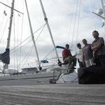 Amarrados en Martinica