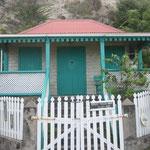 Típicas casas coloniales de la isla