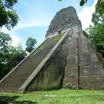Templo V, mide 57 metros de altura