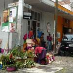 Barrio de San Ángel, popular por su mercado de fines de semana
