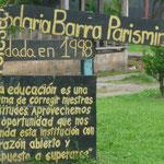 La escuela de Parismina