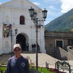 Plaza principal de San Pedro la Laguna