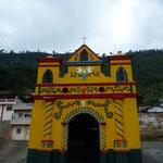 San Andrés Xecul, réplica de la iglesia principal