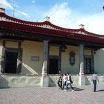 Casa de Hernán Cortés; esta zona fue capital de la Nueva España