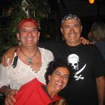 Jose con Carlos y una marinera de Marina Rubicón