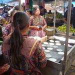 Las tortillas, una de las bases de la alimentación guatemalteca