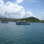 La popular bahía de Hog Island