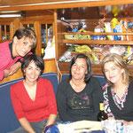 Lourdes, Virgi, Geli y Ana
