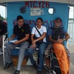 Abordo para Isla de Omepete