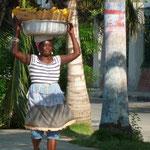 Vendedora de fruta