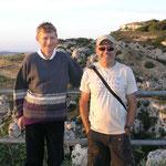 Con Björn, el profe de inglés