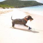 Rufino practicando su deporte favorito