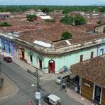 Calles de Granada desde lo alto