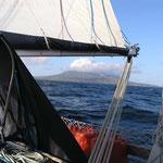 Llegando a Nevis
