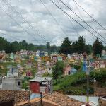 El colorido cementerio
