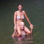 Bañito en agua dulce