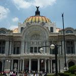 Palacio Bellas Artes, una maravilla