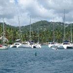 Marigot Bay, a tope