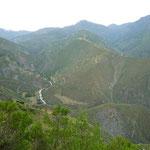 Las vistas del camino a los Nevados, cautivadoras