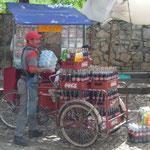 La Coca Cola, muy bebida en esta zona