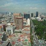 Vistas desde la ciudad desde 187 metros de altura