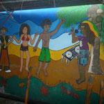 Mural en e Mercado
