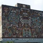 Murales de la Biblioteca  de la UNAM, Univerdidad de México