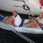 También con el kayac