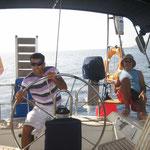 Navegando por los alrededores