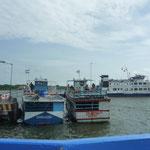 Las lanchas que cruzan el Lago Nicaragua