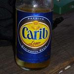La cerveza que más se bebe por aquí, originaria de Trinidad