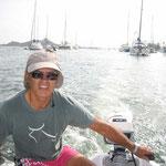 Paseíto con el dinghy, de Holanda a Francia