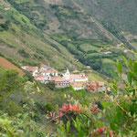 Los Nevados, un pueblo a 2720 m. de altura, en los Andes