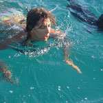 Nadando con Rufino, un gran atleta