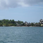 Un lujoso resort en Calivigny Island