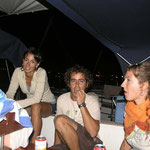 Con Andoni y Lucía