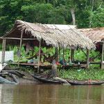 Una comunidad warao