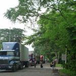 Cruzando la frontera Costa Rica-Nicaragua